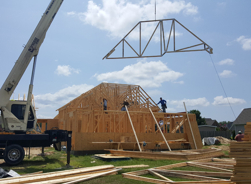 Roof Trusses Anderson Truss Company